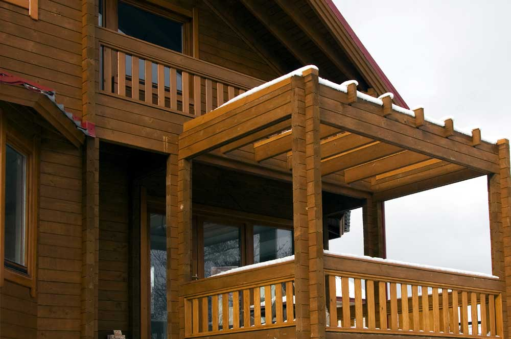Prefabricated log houses from BL Sport Houses